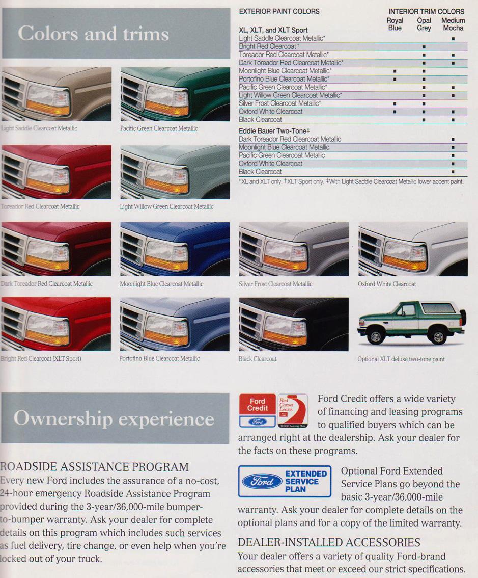 96 EB interior color match | Bronco Forum - Full Size Ford ...